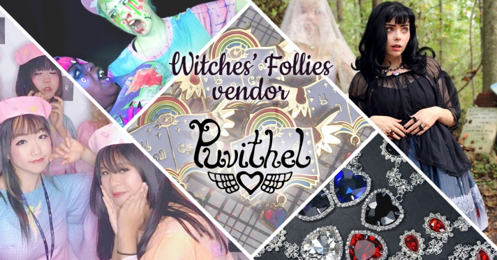 Witches' Follies vendor Puvithel