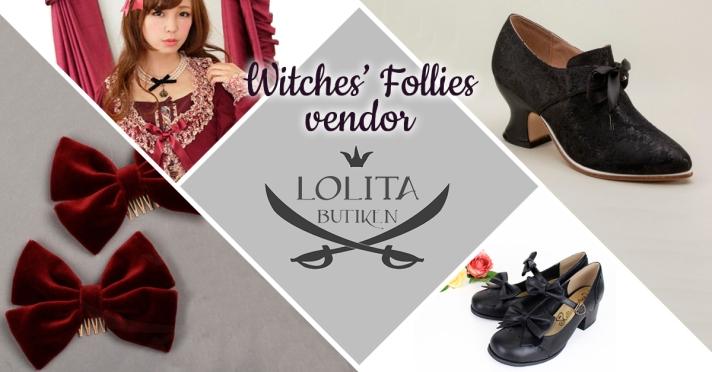Witches' Follies vendor Lolitabutiken