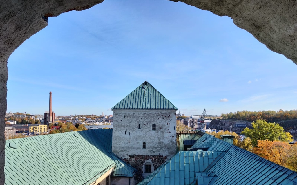 Näkymä Länsitornista - The view from the West Tower